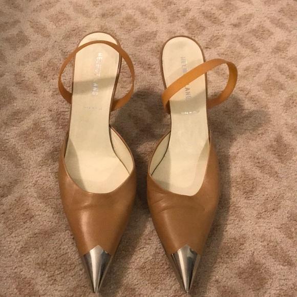 Poshmark Shoes Metal Slingback Tip Lang Helmut W Leather Original RBx8wqOH